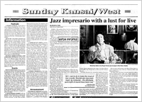 Jazz impresario with a lust for live